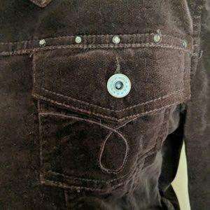 BKE Jackets & Coats - BKE Brown 1/2 Jacket